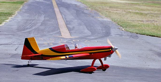 RC Plane Flying in Arkansas