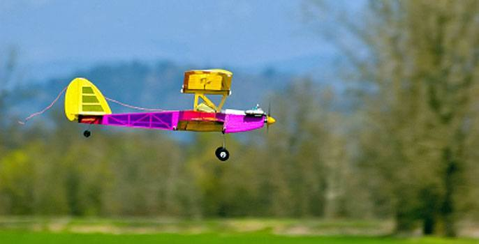 RC Plane Flying in California